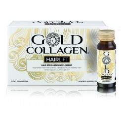 Kollageenijook juuste toetamiseks Gold Collagen Hairlift (10 pudelikest x30ml)